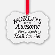 Mail Carrier Ornament