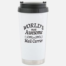 Mail Carrier Stainless Steel Travel Mug