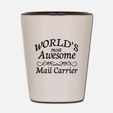 Mail Carrier Shot Glass