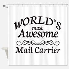 Mail Carrier Shower Curtain