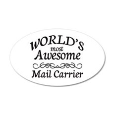 Mail Carrier Wall Decal