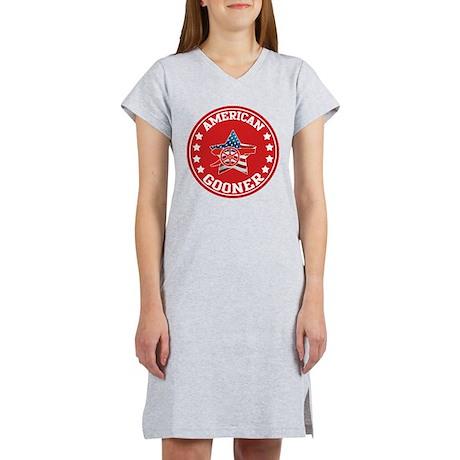 American Gooner (Arsenal) Women's Nightshirt