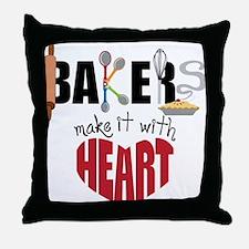 Bakers Throw Pillow