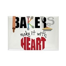 Bakers Rectangle Magnet