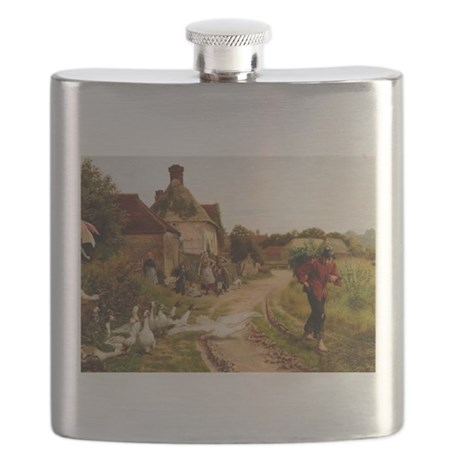 Watch Goose Flask