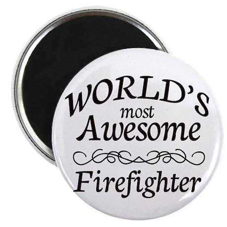 """Firefighter 2.25"""" Magnet (100 pack)"""