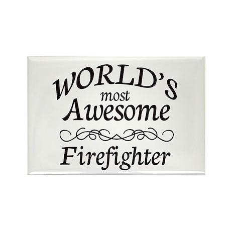 Firefighter Rectangle Magnet