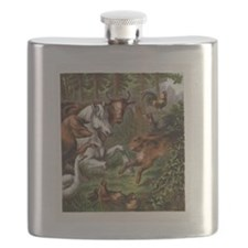 Print from Oft Told Tales Flask