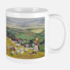 Geese on the Hilltop Mug