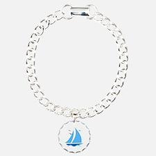 Blue Sailboat Bracelet