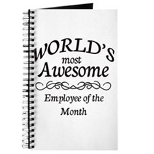 Employee of the Month Journal