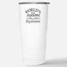 Dog Groomer Thermos Mug