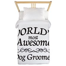 Dog Groomer Twin Duvet