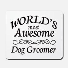 Dog Groomer Mousepad
