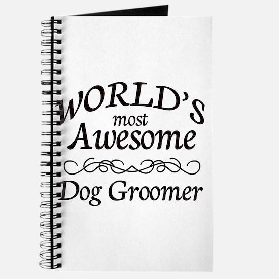 Dog Groomer Journal