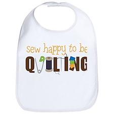 Sew Happy Bib
