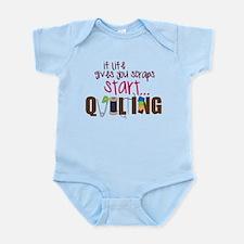 Start Quilting Infant Bodysuit