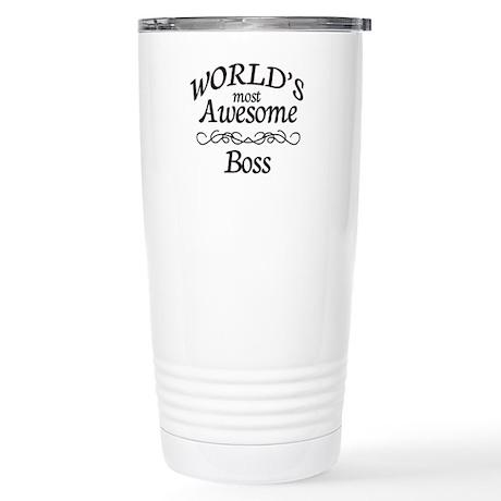 Boss Stainless Steel Travel Mug