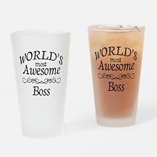 Boss Drinking Glass