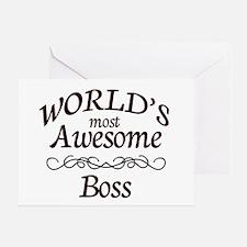 Boss Greeting Card