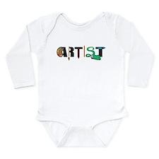 Artist Long Sleeve Infant Bodysuit