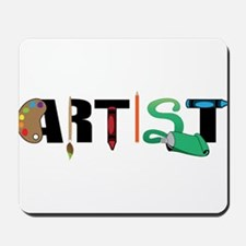 Artist Mousepad