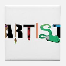 Artist Tile Coaster