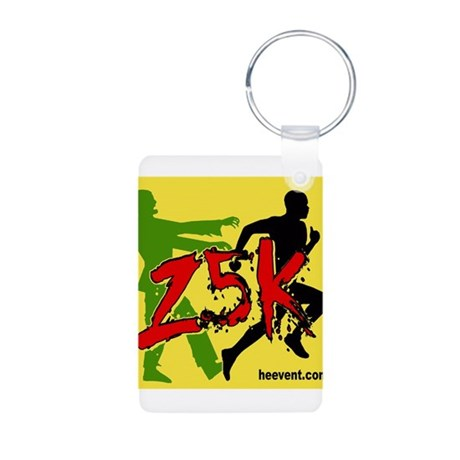 Z5K Logo Aluminum Photo Keychain