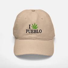 I Love Cannabis Pueblo Colorado Baseball Baseball Cap
