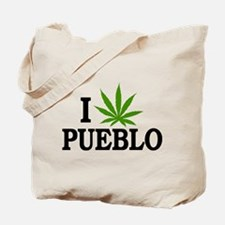 I Love Cannabis Pueblo Colorado Tote Bag