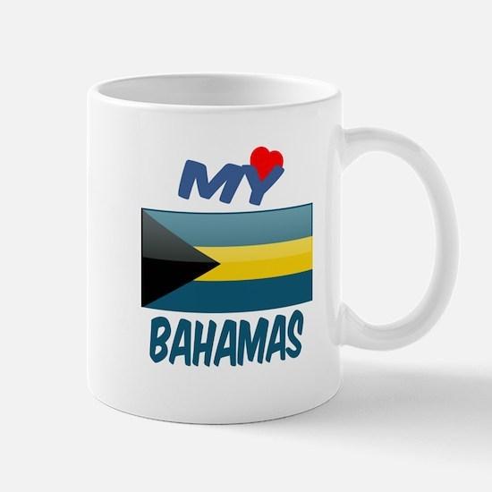 My Love Bahamas Mug