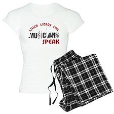 Musicians Speak Pajamas