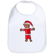 Christmas Groundhog Bib