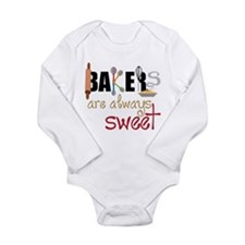 Bakers Are Always Sweet Long Sleeve Infant Bodysui