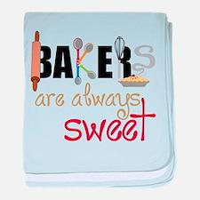 Bakers Are Always Sweet baby blanket