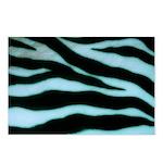 Zebra Blues Postcards (Package of 8)
