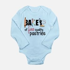 Fine Quality Pastries Long Sleeve Infant Bodysuit