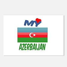 My Love Azerbaijan Postcards (Package of 8)