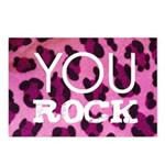 You Rock Pink Postcards (Package of 8)