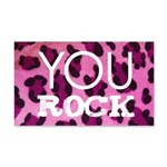 You Rock Pink 20x12 Wall Decal