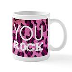 You Rock Pink Mug
