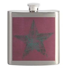 Blue Star Flask