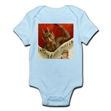 Devil Krampus Christmas Infant Bodysuit