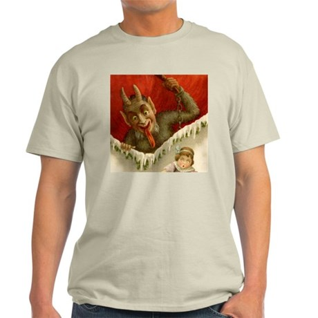 Devil Krampus Christmas Light T-Shirt