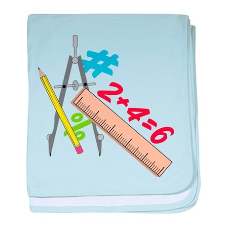 Math baby blanket