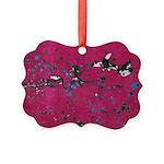 Splat Picture Ornament