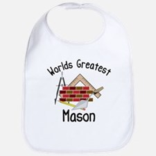 Worlds Greatest Mason Bib