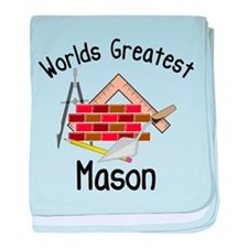 Worlds Greatest Mason baby blanket