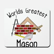 Worlds Greatest Mason Mousepad