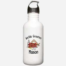Worlds Greatest Mason Water Bottle